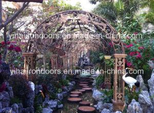 Decoración Muebles de jardín exterior de aluminio toldo cenador de hierro