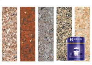 高性能の外壁の建物のコーティングの自然な防水アクリルの石の花こう岩の石のスプレー式塗料のペンキ