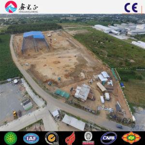 Vorfabrizierte Stahlbaumaterial-industrielle Lager-große Überspannungs-Werkstatt (Q345B/Q235B)