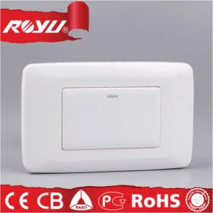 PC Material Flat Button Switch di Saba Certificate per la Sudafrica