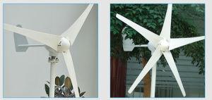 24V 500 Вт мал по горизонтальной оси ветровой турбины+ ветер контроллера заряда