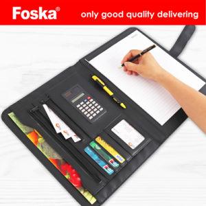Foska 33*25cm Ordre du jour avec Pocket et la calculatrice