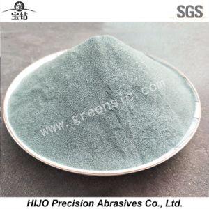 Grünes Karbid-Puder des Silikon-F800 verwendet in den Spezialanstrichen