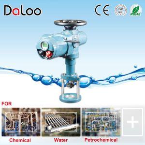 Multi tourner la vanne de régulation intelligente de l'actionneur électrique