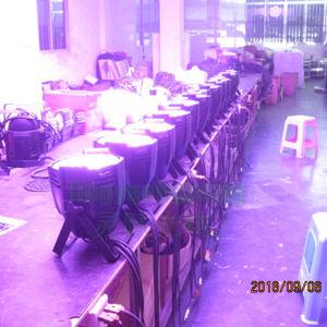 El RGB 3in1 54pcs 3vatio LED DMX Etapa PAR