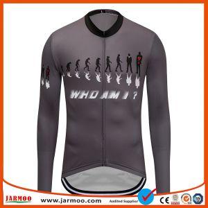 Abiti sportivi respirabili Jersey di riciclaggio adatta sottile della bicicletta di nuovo disegno personalizzati fornitore dell'OEM