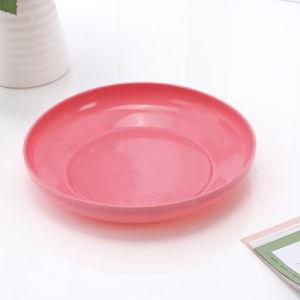 新しい十分に印刷された安い木の形の装飾のクリスマスのプラスチックフルーツの皿