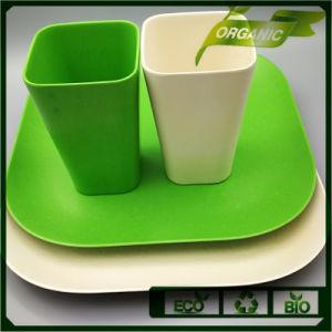Nuevo diseño de material sano cena de vajilla de lujo