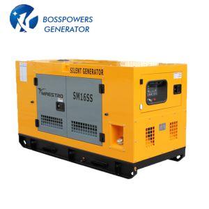 50Hz 7,5 kw 9kVA Water-Cooling silencieux auvent insonorisées propulsé par groupe électrogène diesel Kubota Groupe électrogène diesel de l'alternateur
