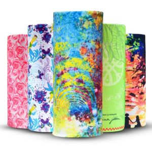 Pañuelo de cabeza perfecta promocionales impresos personalizados Bandana UV (YH-HS704)