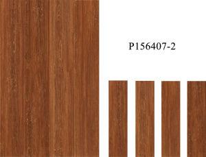 Tegels van de Vloer van de Decoratie van de Aard van de cultuur de Hout Verglaasde Houten Rustieke (600*150mm)