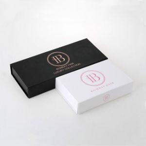 Personalizado de lujo de extensión de cabello Caja de embalaje de papel