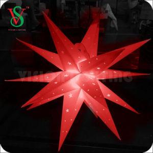 2018 Weihnachtskugel-Motiv-Licht des heißen Verkaufs-im Freien 3D LED