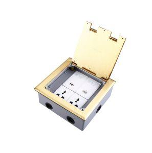 Presa a parete di successo del pavimento/caselle del pavimento con 3 lo zoccolo di Pin 10A