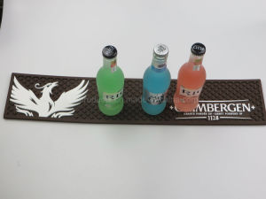 3D pvc Bar Mat van Drip Logo voor Bar Promotions