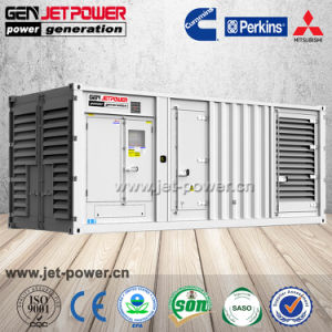 Diesel 1000kVA van de Generator 900kVA van Fatory de Reserve Geluiddichte Container Gebruikte Reeks van de Generator