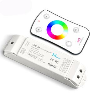 5A*4CH 12V/24V tira RGB remoto RF sem fios Controlador de LED