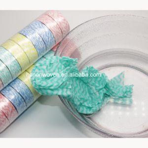 Tessuto appiattito della moneta del tovagliolo del Wipe compresso magia non tessuta