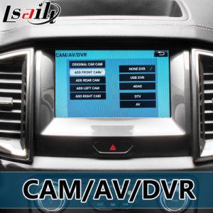 Android Market 6.0 Interface de vídeo de navegação GPS para a Ford Ranger / Explorer Sync 3 Espelho Bt WiFi Link Tela Fundido