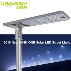 Gran cantidad de lúmenes 160lm/W Nueva tecnología patentada solar 60W Calle luz LED