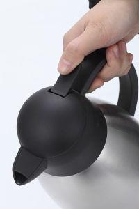 ホテルのステンレス鋼のプラスチックハンドルの熱湯のコーヒー水差し(JSUB)