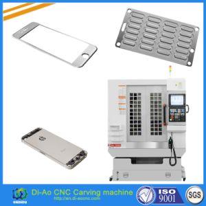 China máquina CNC de alta precisión de caucho de silicona para teclado, lente de cristal, la lente óptica