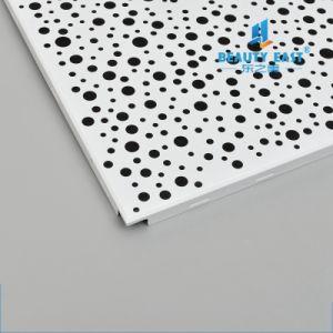 Новая серия перфорации за панелями подвесного потолка перфорации металлических квадратные потолочные