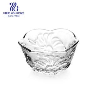 3,5 Clear цветочный выбитые стекла Круглый стакан (ГБ133490фнт)