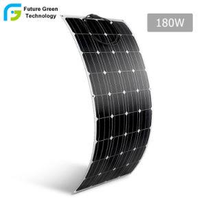 180W Zonnepaneel van de Systemen van de zonneMacht het Flexibele Mono