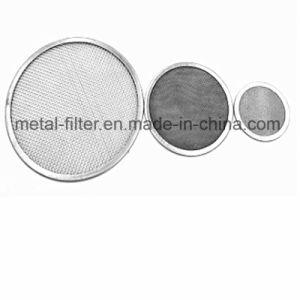 Kundenspezifischer Edelstahl 304 316 15-300 Mikron-runde Filter-Platten