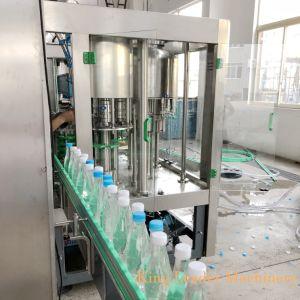 Небольшая емкость чистой воды заполнение производственной линии