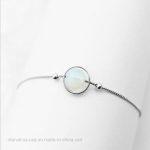 Verdadeiro 925 Sterling Silver Senhoras braceletes