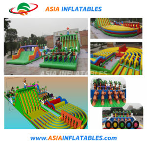 Crazy Jeu 5K gonflable Obstacle Cours pour adultes
