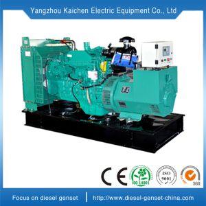 Refrigerado por agua de tres fases de tipo abierto grupo electrógeno diesel al aire libre