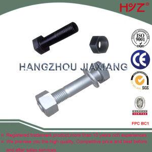 Estrutura de aço de correr F10T/F8t os parafusos de cabeça sextavada interior preto ou acabamento Dacromet