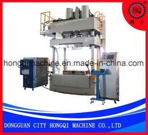La prensa de calor de la creación de la máquina para la fibra de carbono