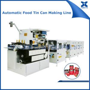 Alimentos automática de estaño puede hacer de la línea de producción de la máquina