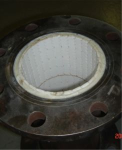 Tubo d'acciaio composito rivestito di ceramica di tecnologia specializzata