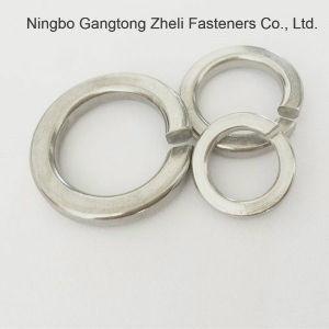 Pente de l'acier inoxydable A2 DIN125-1 une rondelle plate