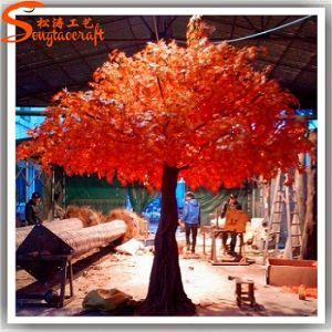Jardim decoração vermelha Artificial Maple Tree Árvore Seca para decoração