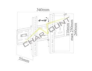 싼 고품질 경사 LED/LCD 텔레비젼 벽 마운트 부류 (CT-PLB-404)