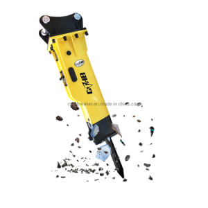 Boîte d'excavateur prix d'usine Cthb Yantai neutralisée Type marteau hydraulique