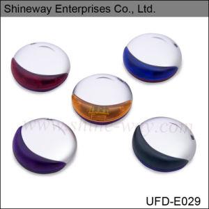 Круглая форма пластиковый USB флэш-диски (E029)