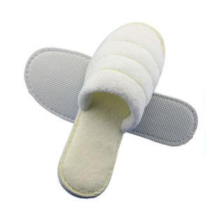 Plush Flip Flops Chambre sandales femmes pantoufles