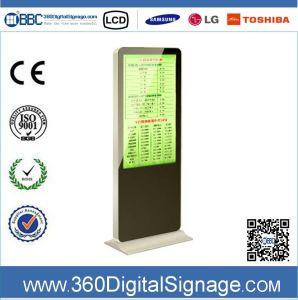 42 affissione a cristalli liquidi di pollice 1080P Vertical Indoor Advertizing Display con Network 3G/WiFi per Commercial Buildings