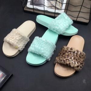 Chaussures de la fourrure
