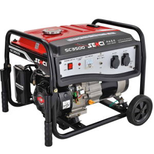 Hete Sell en nieuw-Designed Europese Gasoline Generator (2.8kw, 7HP met Electric/Recoil Start)
