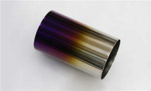 Venta caliente puntas de escape de titanio de alta calidad