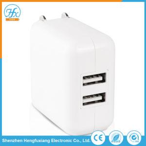 RoHS Arbeitsweg elektrische 5V 2.1A USB-Wandportable-Aufladeeinheit