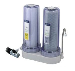 透過カバーが付いている水道水の清浄器およびユニバーサルコネクターと同様、選択的なろ過材